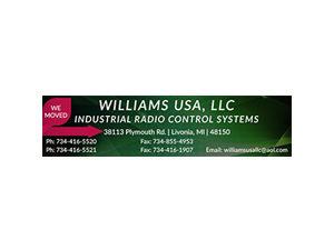 Williams Industrial Radio Control Systems