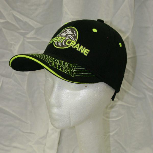 Black and green Expert Crane ballcap